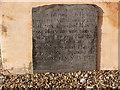 SK5330 : Early gravestone, Gotham Church by Alan Murray-Rust