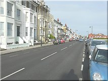 TR3751 : Looking north-northwest along The Strand, Lower Walmer by John Baker