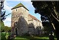TQ6852 : St Mary's church. Nettlestead by Julian P Guffogg