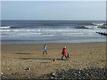 NZ6124 : Beach at Redcar by JThomas