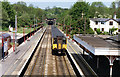 TL2415 : Welwyn North station, with Up train, ECML 1992 by Ben Brooksbank