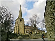 SK3463 : All Saints parish church, Ashover by Chris Morgan