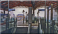 TQ3780 : Canary Wharf station, DLR 1993 by Ben Brooksbank