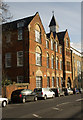 TQ3083 : Victorian school conversion, York Way by Julian Osley