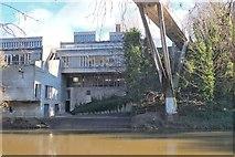 NZ2742 : Students Union and Kingsgate footbridge, Durham by Jim Barton