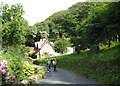 SS6949 : On the toll road 2-Lee Abbey, North Devon by Martin Richard Phelan