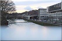 NZ2742 : River Wear from Pennyferry Bridge by Jim Barton