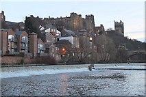 NZ2742 : Framwelgate Weir, Durham by Jim Barton