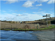 TQ8959 : At the crossroads by Robin Webster