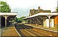 TQ2764 : Carshalton station, 1986 by Ben Brooksbank