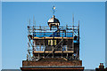 TQ2550 : Restoration work, Old Town Hall by Ian Capper