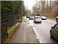 SK5338 : Derby Road near Lenton Lodge by Alan Murray-Rust