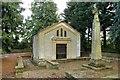 SP3516 : The du Cros family vault in Finstock churchyard by Steve Daniels