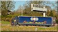 J2287 : M2 traffic information sign, Parkgate/Templepatrick by Albert Bridge