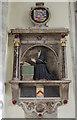 TQ6852 : Memorial to Elizabeth Stafford, St Mary's church, Nettlestead by Julian P Guffogg