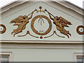 SK5640 : 2 The Ropewalk, pediment detail by Alan Murray-Rust
