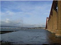 NT1378 : Pillars of the bridge by James Allan