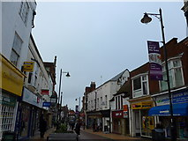 SU6351 : Winchester Street in mid February 2014 by Basher Eyre