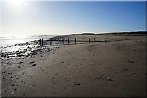 TA4115 : Outfall on Kilnsea Beach, Holderness by Ian S