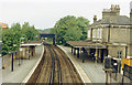TQ0366 : Chertsey station, 1986 by Ben Brooksbank