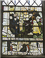 TQ6852 : Stained glass window, St Mary's, Nettlestead by J.Hannan-Briggs