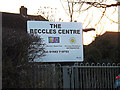 TM4389 : The Beccles Centre sign by Adrian Cable