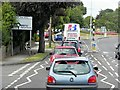 TM1716 : London Road approaching St John's Roundabout, Great Clacton by David Dixon