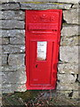 NY7956 : Victorian Post Box, Keenleywell House by Les Hull