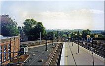 NT9953 : Berwick-upon-Tweed station, ECML 2002 by Ben Brooksbank