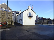SC2667 : Harbour masters office Castletown by Richard Hoare
