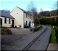 ST4492 : Well Lane, Llanvair Discoed by Jaggery