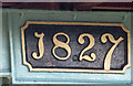 TA0488 : Formally opened in 1827 by Pauline E
