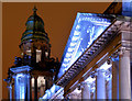 J3373 : Belfast City Hall (night view) - February 2014(2) by Albert Bridge