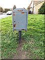 TM4289 : Royal Mail Dump Box on Kemps Lane by Adrian Cable