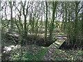 TM2475 : Footbridge by Keith Evans