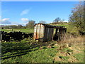 SE1072 : Ex Rolling Stock beside the Nidderdale Way by Chris Heaton