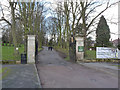 SK5439 : Entrance to Lime Tree Avenue, Wollaton Park by Alan Murray-Rust