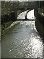 SK5539 : Sparkle on the River Leen by Alan Murray-Rust