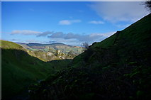 SK1482 : Cave Dale and Peveril Castle by Peter Barr