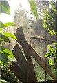 SX9065 : Steaming fence, Cricketfield Road by Derek Harper