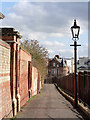 SK5640 : Newcastle Terrace at the 'back' of The Ropewalk by Alan Murray-Rust