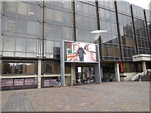 SU6400 : TV Screen in Guildhall Square, Portsmouth by Paul Gillett
