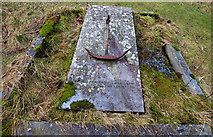 NY4319 : Grave, St Peter's church, Martindale by Ian Taylor