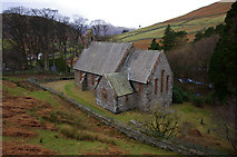 NY4319 : St Peter's church, Martindale by Ian Taylor