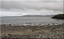 NR2948 : Looking north-east from Eilean Tòrrach, Islay by Becky Williamson