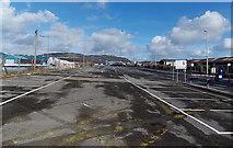 SS7597 : Milland Road car park, Neath by Jaggery
