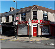 SS7597 : Neath Labour Party Office and Advice Office by Jaggery