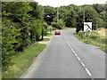 TL8647 : A1092 at Long Melford by David Dixon