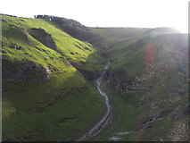 SK1482 : Cave Dale from Peveril Castle by Gareth James