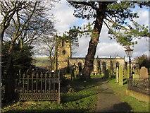 SK1582 : Castleton Church by Gareth James